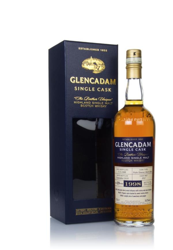 Glencadam 19 Year Old Sherry Cask #PX1 Single Malt Whisky