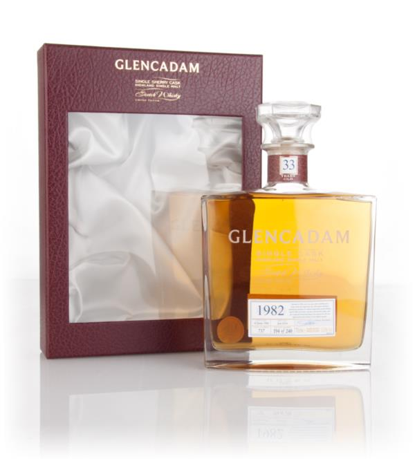 Glencadam 33 Year Old 1982 (cask 737) 3cl Sample Single Malt Whisky
