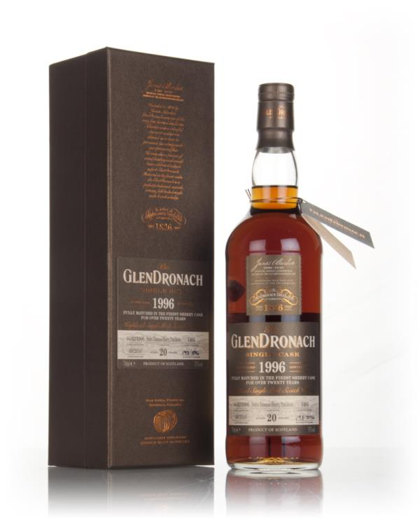 GlenDronach 20 Year Old 1996 (cask 1485) 3cl Sample Single Malt Whisky
