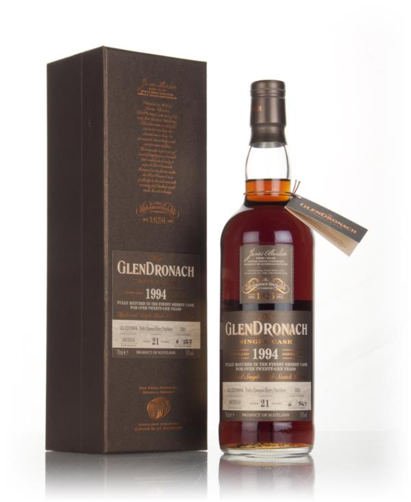 GlenDronach 21 Year Old 1994 (cask 339) 3cl Sample Single Malt Whisky
