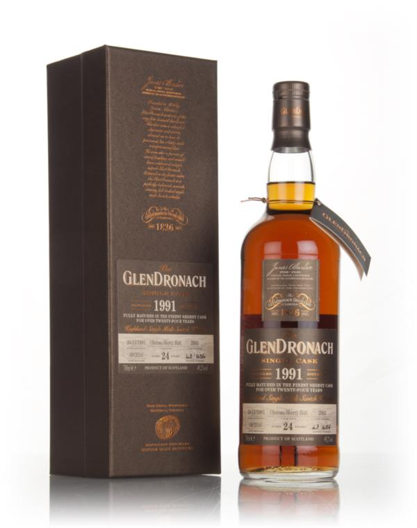 GlenDronach 24 Year Old 1991 (cask 2683) 3cl Sample Single Malt Whisky