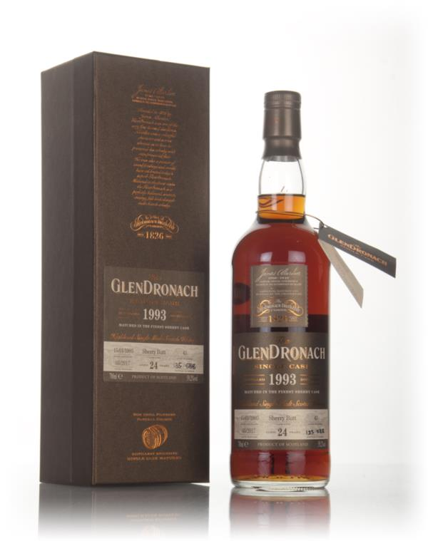 GlenDronach 24 Year Old 1993 (cask 43) 3cl Sample Single Malt Whisky