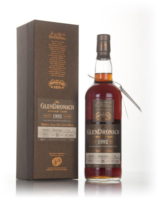 GlenDronach 25 Year Old 1992 (cask 52) 3cl Sample Single Malt Whisky
