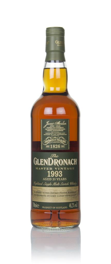 The GlenDronach 25 Year Old 1993 - Master Vintage Single Malt Whisky