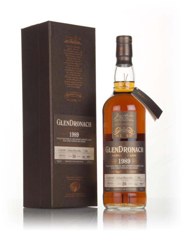 GlenDronach 26 Year Old 1989 (cask 2662) 3cl Sample Single Malt Whisky