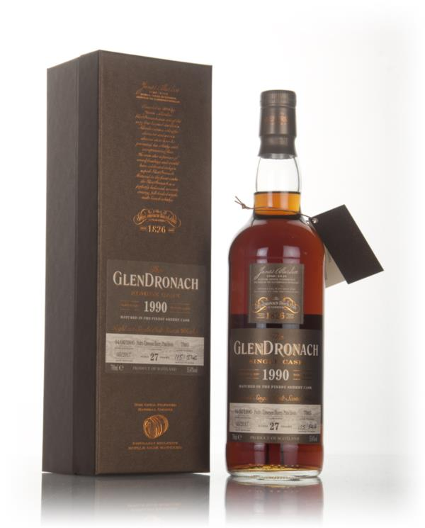 GlenDronach 27 Year Old 1990 (cask 7005) 3cl Sample Single Malt Whisky