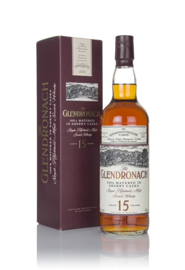 The GlenDronach 15 Year Old - 1990s Single Malt Whisky