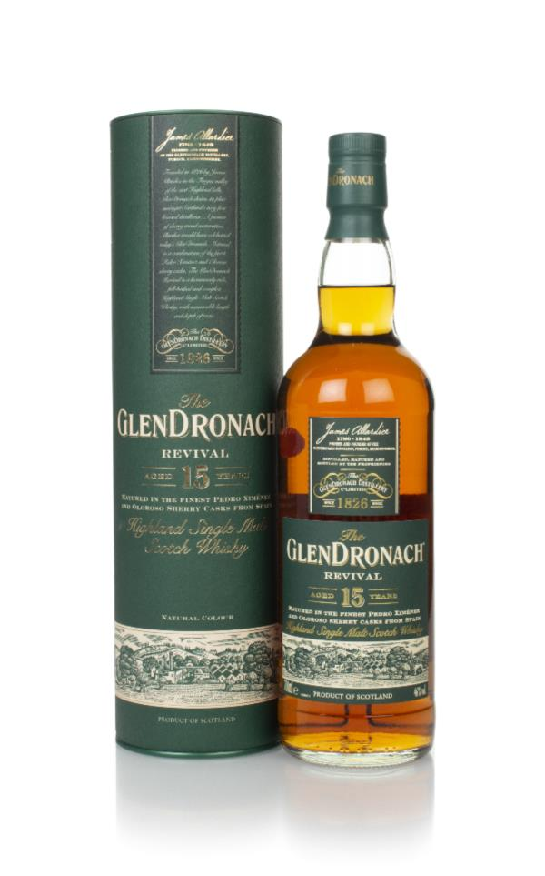 The GlenDronach 15 Year Old Revival Single Malt Whisky