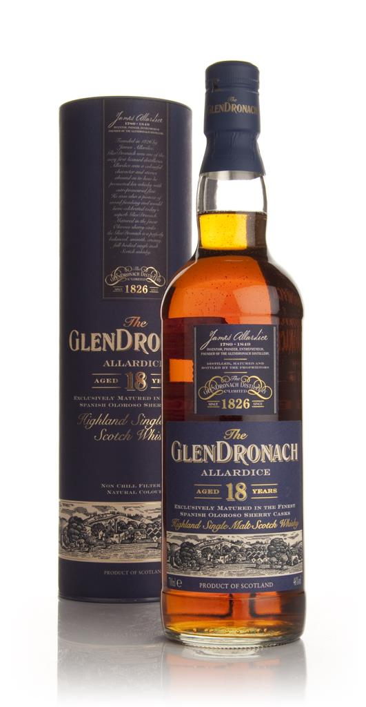 The GlenDronach 18 Year Old Allardice Single Malt Whisky