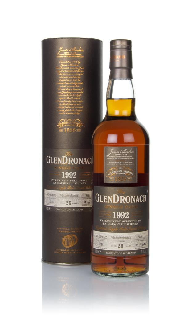 The GlenDronach 26 Year 1992 (cask 8316) Single Malt Whisky