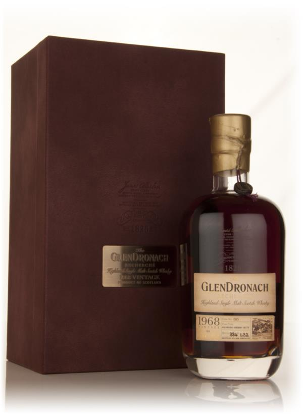 The GlenDronach 44 Year Old 1968 Recherche (cask 005) 3cl Sample Single Malt Whisky