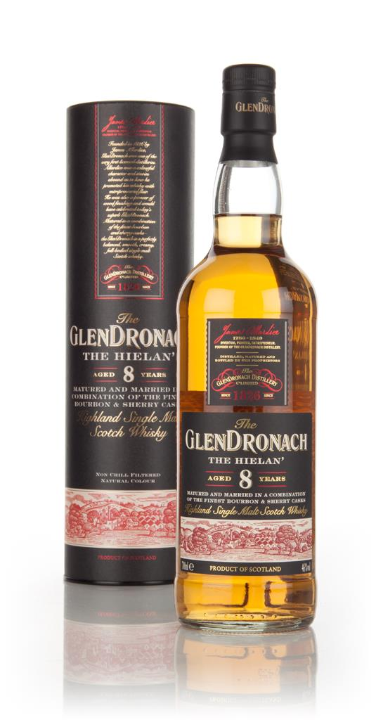 The GlenDronach 8 Year Old The Hielan Single Malt Whisky