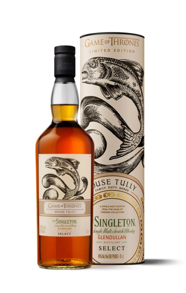 House Tully & Singleton of Glendullan Reserve - Game of Thrones Single Single Malt Whisky