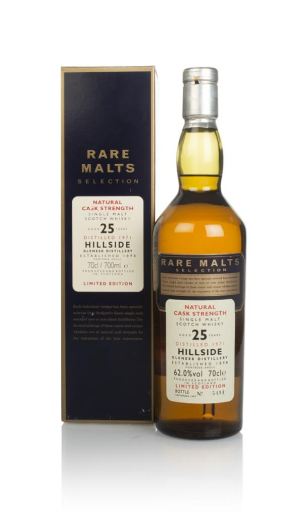 Hillside 25 Year Old 1971 - Rare Malts Single Malt Whisky