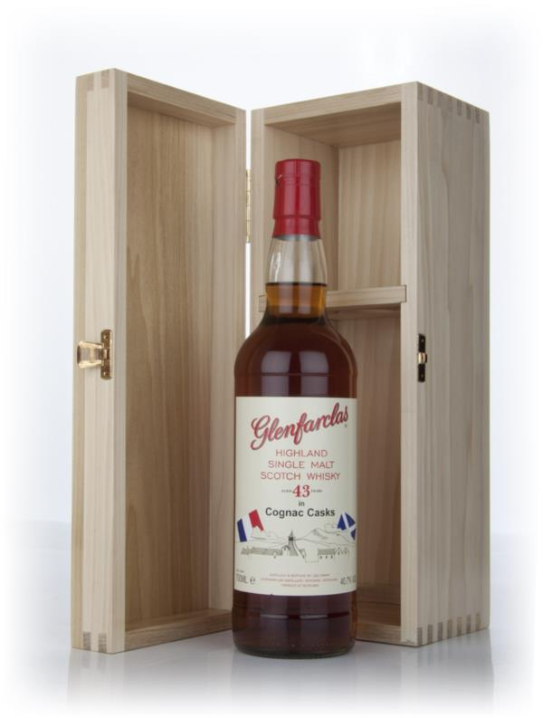 Glenfarclas 43 Year Old Cognac Cask Single Malt Whisky