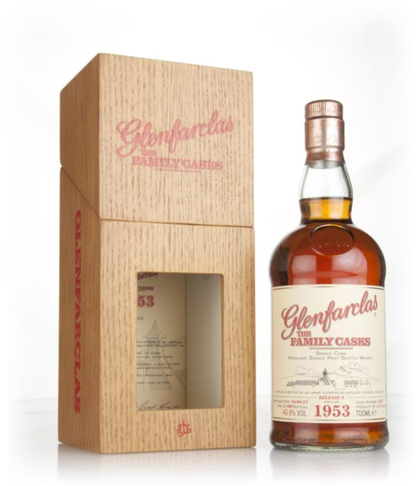 Glenfarclas 1953 (cask 1675) Family Cask Release X Single Malt Whisky