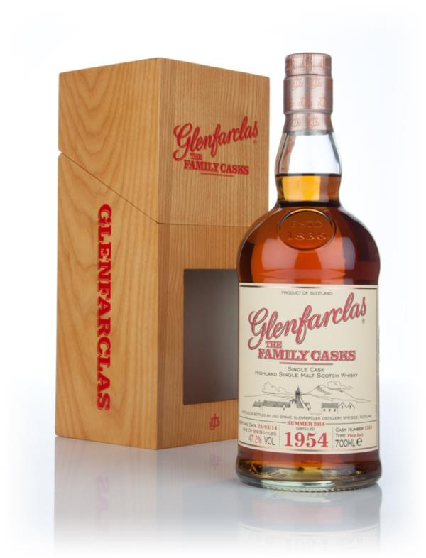 Glenfarclas 1954 (cask 1260) Family Cask Summer 2014 Release Single Malt Whisky