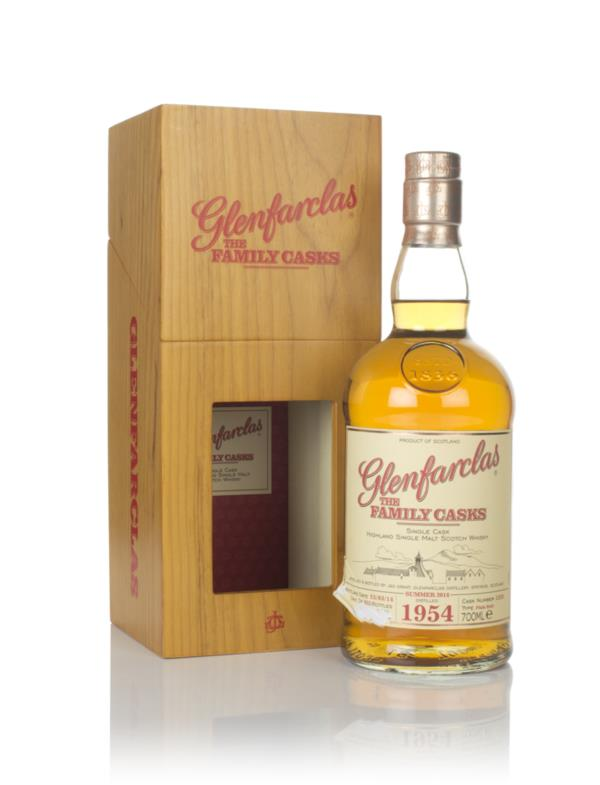 Glenfarclas 1954 (cask 1259) Family Cask Summer 2014 Release Single Malt Whisky