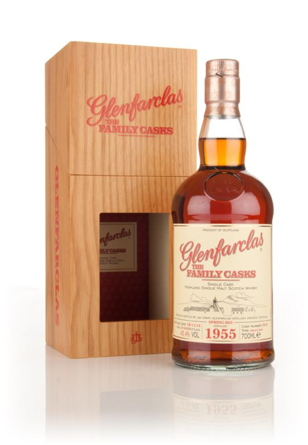 Glenfarclas 1955 (cask 2216) Family Cask Spring 2015 Release Single Malt Whisky