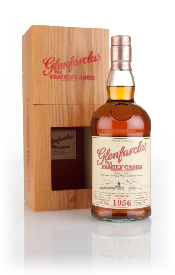 Glenfarclas 1956 (cask 1767) Family Cask Spring 2015 Release Single Malt Whisky