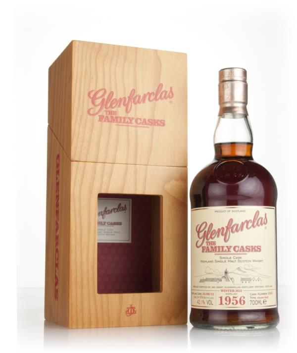 Glenfarclas 1956 (cask 2355) Family Cask Winter 2015 Release Single Malt Whisky