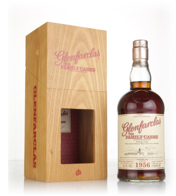 Glenfarclas 1956 (cask 2358) Family Cask Winter 2015 Release Single Malt Whisky
