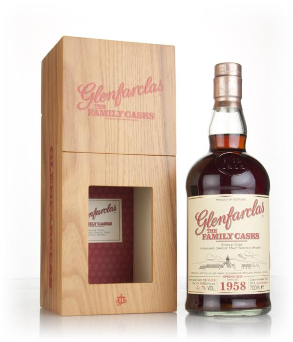 Glenfarclas 1958 (cask 2061) Family Cask Spring 2015 Release Single Malt Whisky