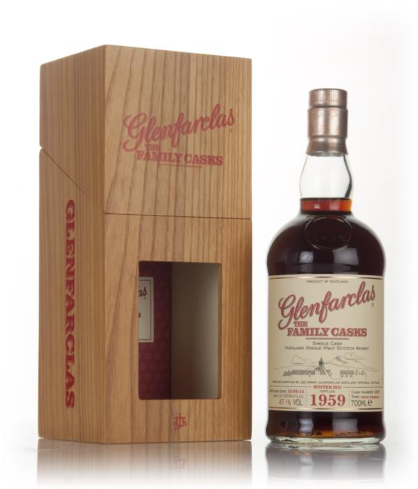 Glenfarclas 1959 (cask 1822) Family Cask Winter 2015 Release Single Malt Whisky