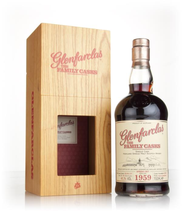 Glenfarclas 1959 (cask 3225) Family Cask Spring 2017 Release Single Malt Whisky