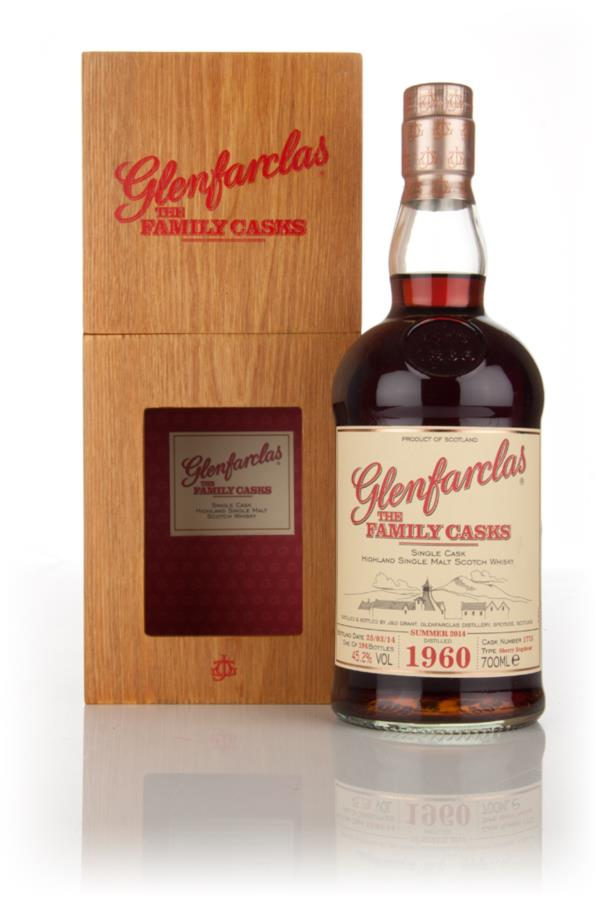 Glenfarclas 1960 (cask 1775) Family Cask Summer 2014 Release Single Malt Whisky