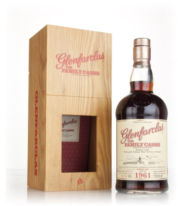 Glenfarclas 1961 (cask 4896) Family Cask Spring 2017 Release Single Malt Whisky