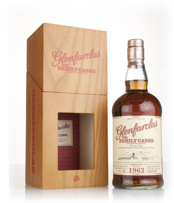 Glenfarclas 1963 (cask 3541) Family Cask Spring 2015 Release Single Malt Whisky