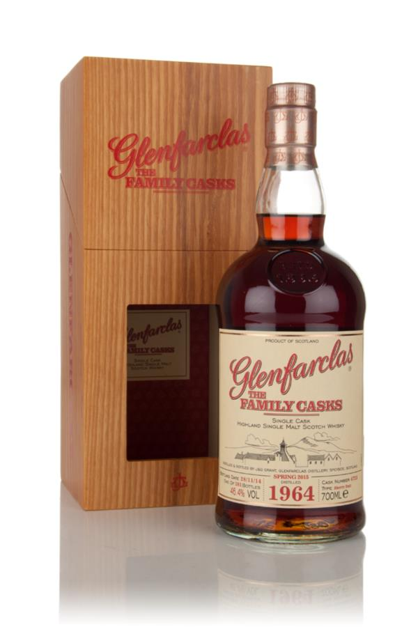 Glenfarclas 1964 (cask 4725) Family Cask Spring 2015 Release Single Malt Whisky
