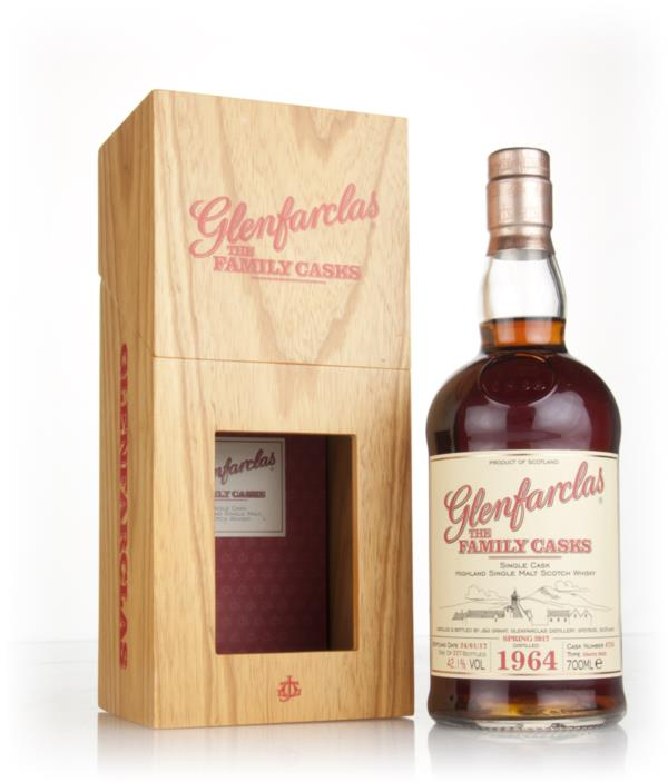 Glenfarclas 1964 (cask 4726) Family Cask Spring 2017 Release Single Malt Whisky