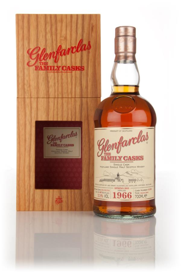 Glenfarclas 1966 (cask 4198) Family Cask Spring 2015 Release Single Malt Whisky