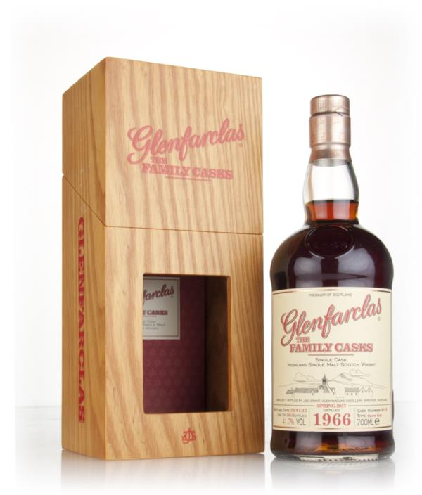 Glenfarclas 1966 (cask 4199) Family Cask Spring 2017 Release Single Malt Whisky