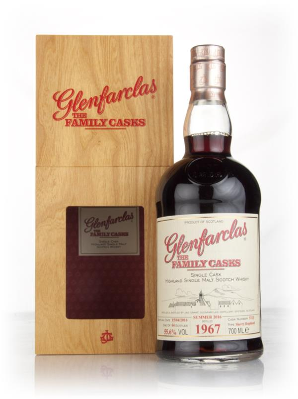 Glenfarclas 1967 (cask 5113) Family Cask Summer 2016 Release Single Malt Whisky