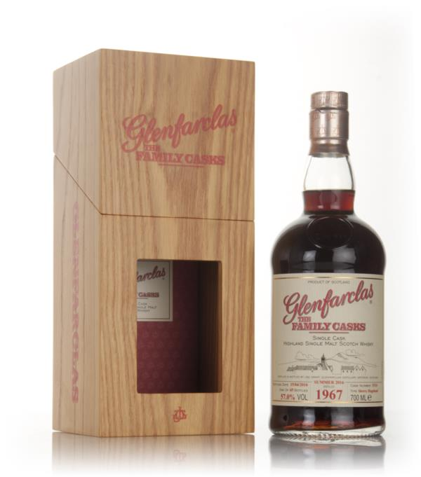 Glenfarclas 1967 (cask 5114) Family Cask Summer 2016 Release Single Malt Whisky