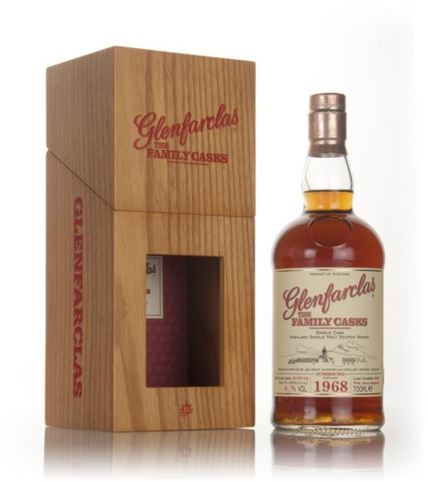 Glenfarclas 1968 (cask 5243) Family Cask Summer 2016 Release Single Malt Whisky