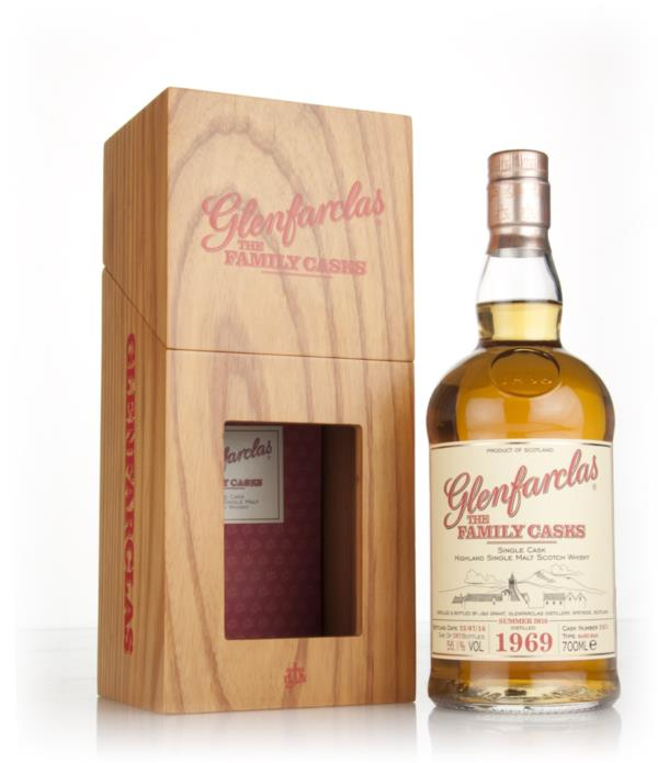 Glenfarclas 1969 (cask 2451) Family Cask Summer 2016 Release Single Malt Whisky