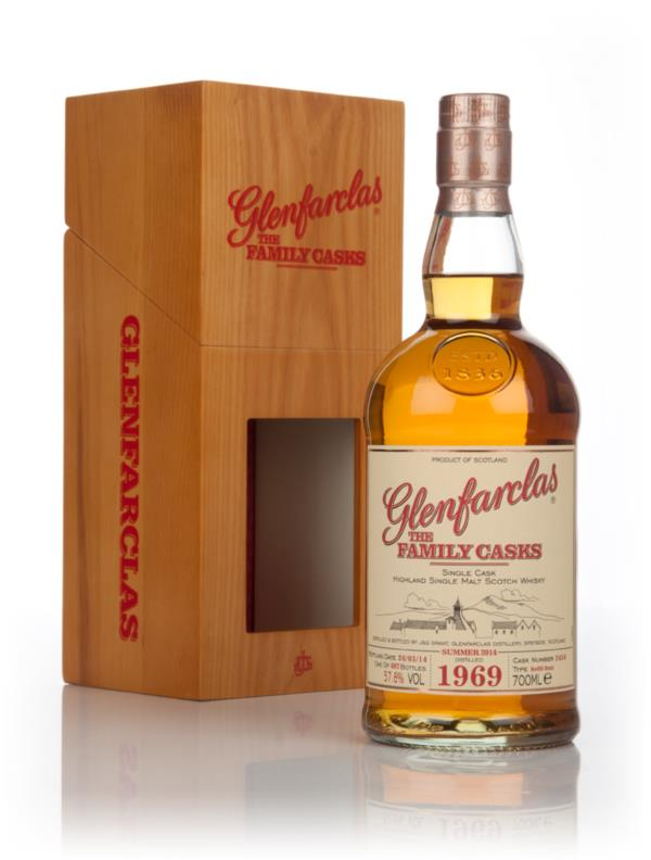 Glenfarclas 1969 (cask 2454) Family Cask Summer 2014 Release Single Malt Whisky