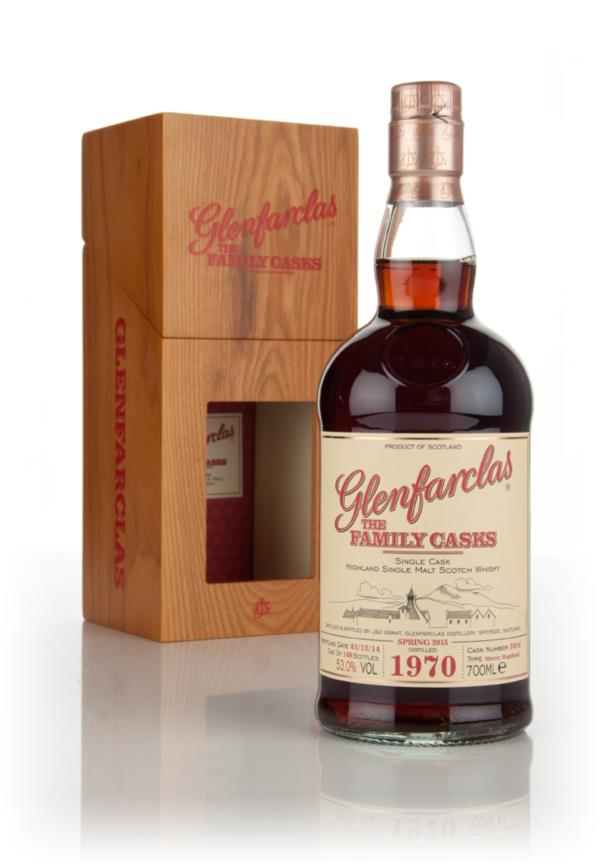 Glenfarclas 1970 (cask 2026) Family Cask Spring 2015 Release Single Malt Whisky