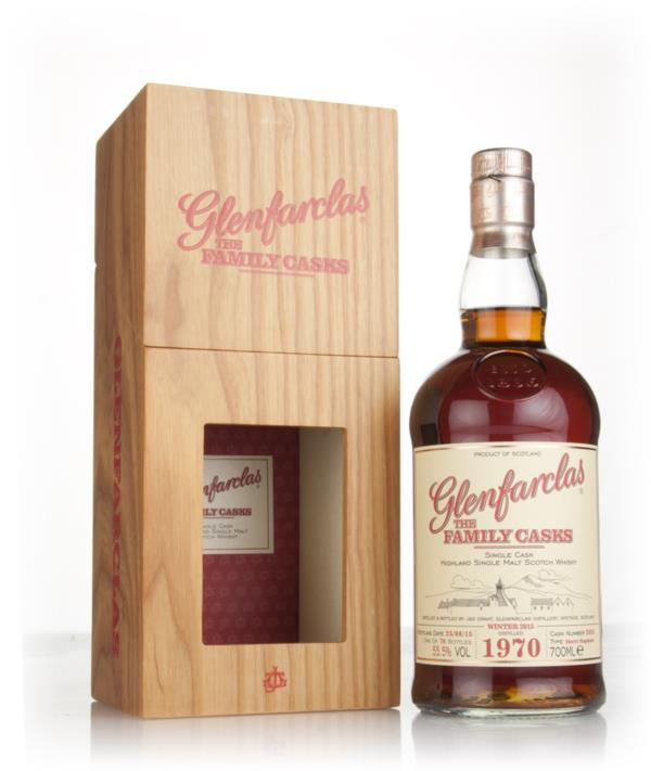 Glenfarclas 1970 (cask 2033) Family Cask Winter 2015 Release Single Malt Whisky