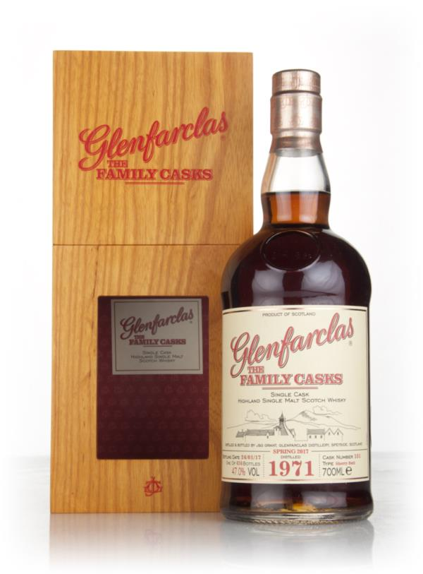 Glenfarclas 1971 (cask 151) Family Cask Spring 2017 Release Single Malt Whisky