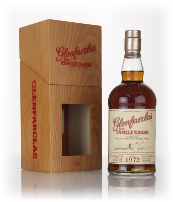 Glenfarclas 1972 (cask 3548) Family Cask Winter 2015 Release Single Malt Whisky