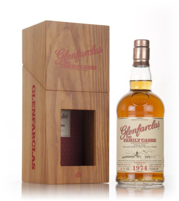 Glenfarclas 1974 (cask 4076) Family Cask Summer 2016 Release Single Malt Whisky
