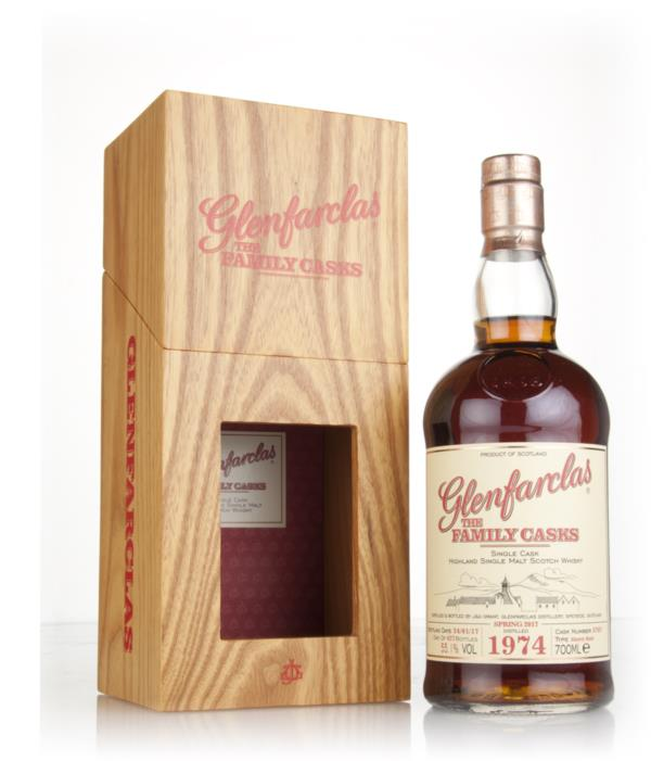 Glenfarclas 1974 (cask 5787) Family Cask Spring 2017 Release Single Malt Whisky