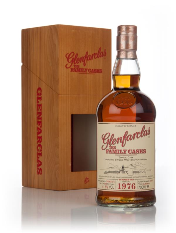 Glenfarclas 1976 (cask 3105) Family Cask Summer 2014 Release Single Malt Whisky