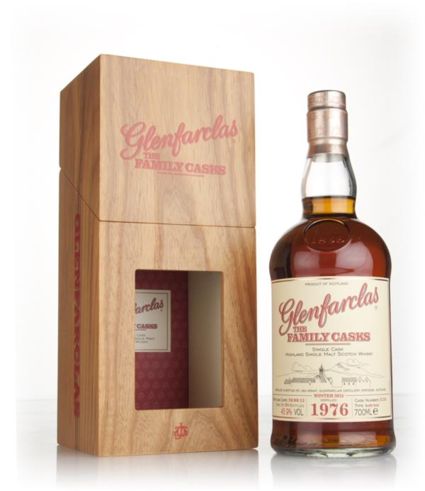 Glenfarclas 1976 (cask 3110) Family Cask Winter 2015 Release Single Malt Whisky