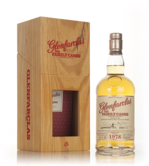 Glenfarclas 1978 (cask 752) Family Cask Spring 2017 Release Single Malt Whisky